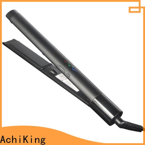 AchiKing quality hair ceramic flat irons customized for beauty salon