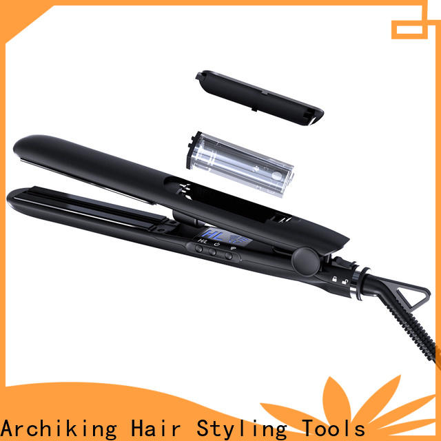 AchiKing reliable flat iron hair straightener customized for beauty salon