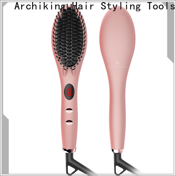 AchiKing digital straighten brush wholesale for home