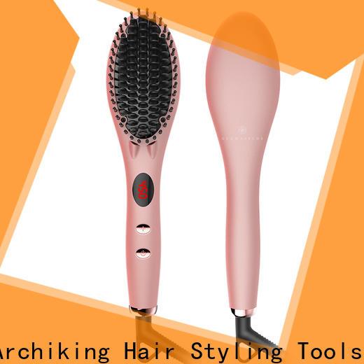 AchiKing straightening best hair straightening brush factory price for beauty salon