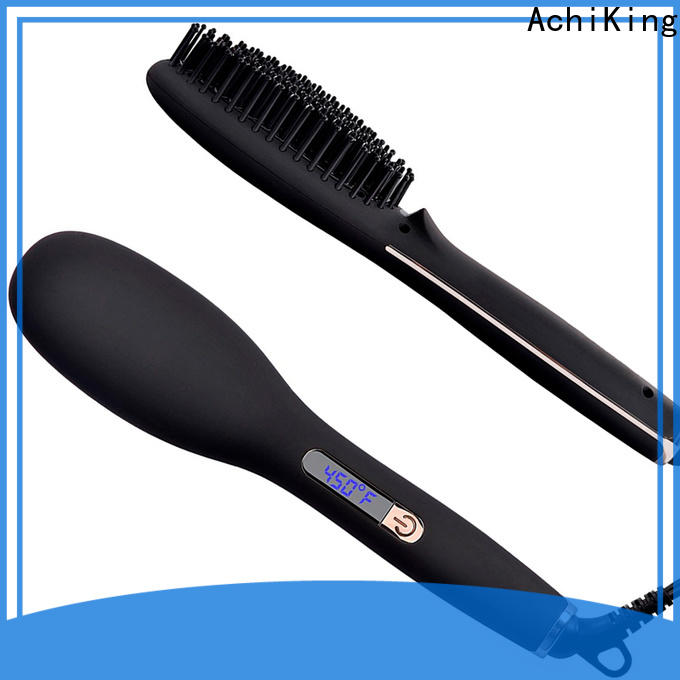 AchiKing best hair straightening brush supplier for home