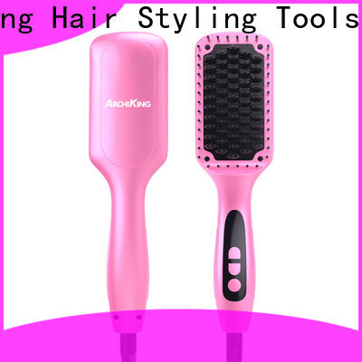 straightening best electric hair straightening brush personalized for home