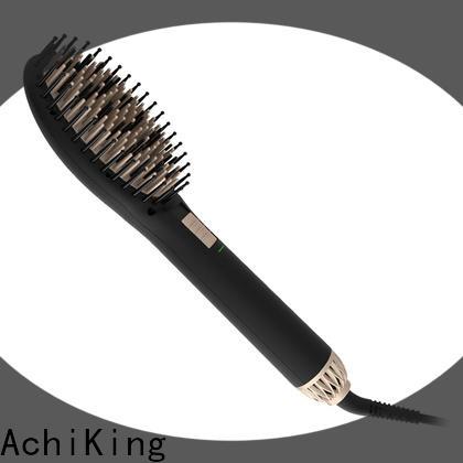 AchiKing flat best hair straightening brush supplier for household
