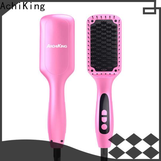 patented best hair straightening brush supplier for dressing room