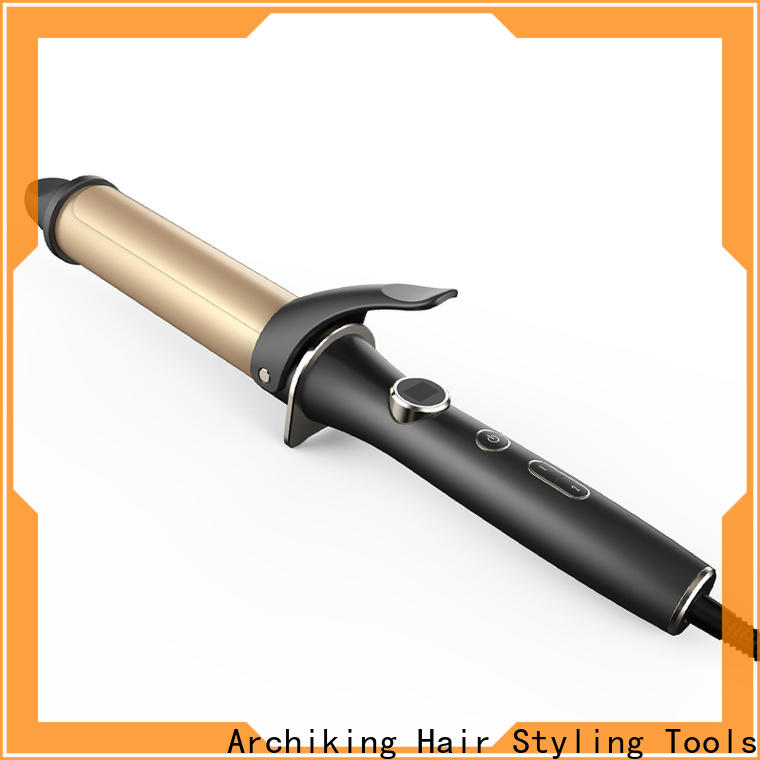 AchiKing wave curling iron design for dressing room